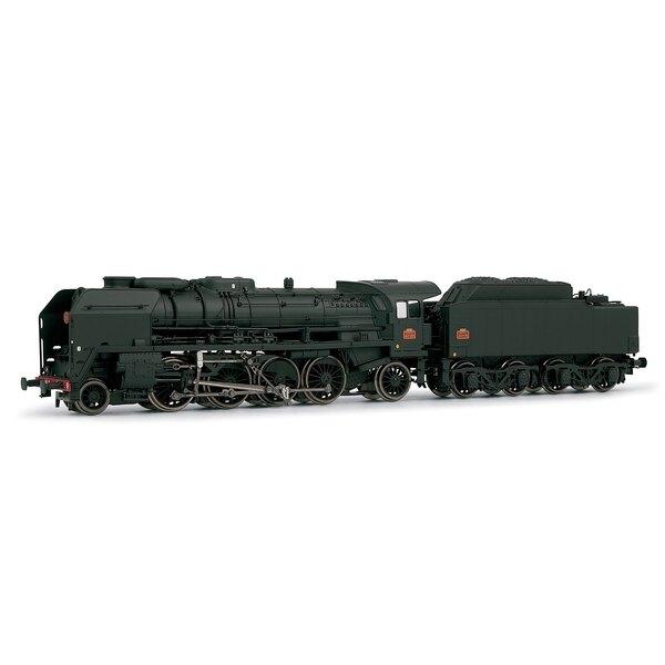 Locomotive 141P - 257 deposit Belfort weathered