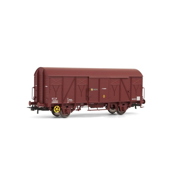Boxcar j. Red oxide RENFE