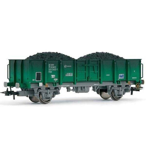 Gondola cargas RENFE coal loading painting aged **