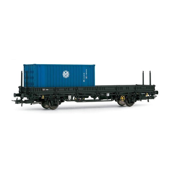 1 container flat car with tso