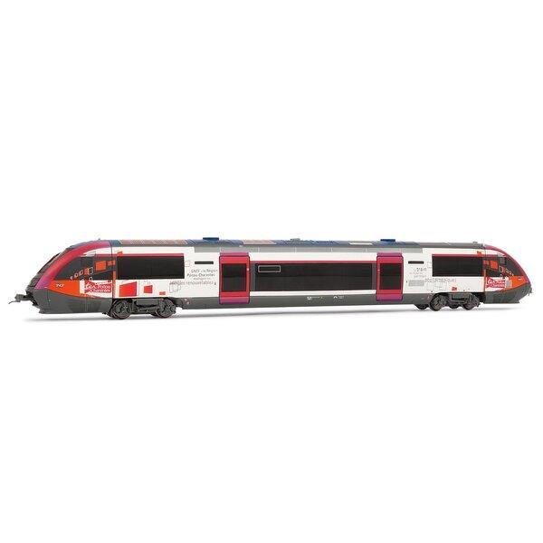 Railcar X73500, photovoltaic, Poitou-Charentes region