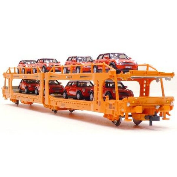 Car-carrier wagon with two levels SITFA with 8 cars