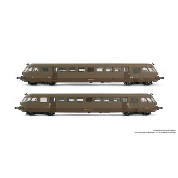 Box 2 diesel railcars aln 556 bredafs