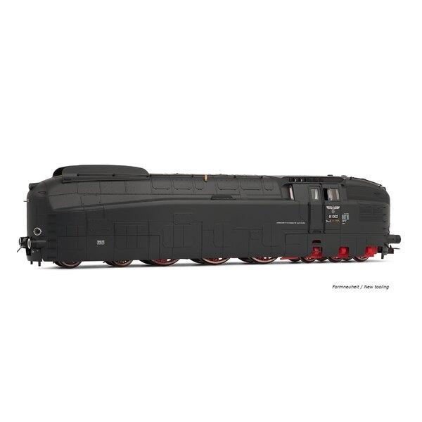Locomotora de vapor DR 61 002 b, ep. Iic, librea gris, ac digitales