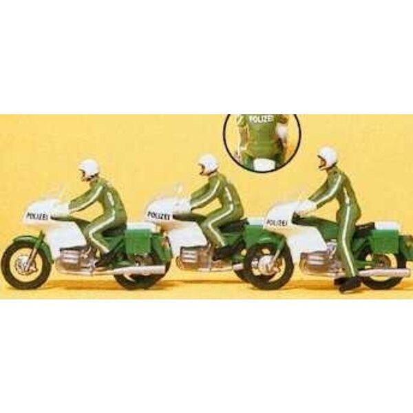 Motocicleta de la policía