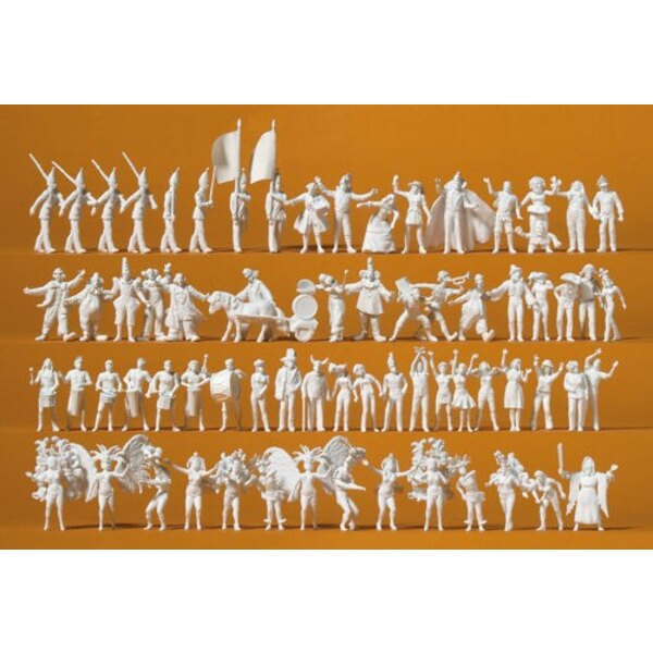 Carnival, 68 figurines to paint