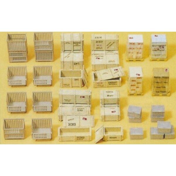 Cajas de paletas