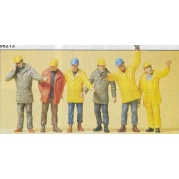 Trabajadores de la fábrica