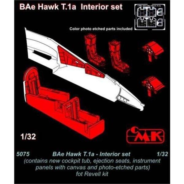 BAe Hawk T.1a set d'intérieur (conçu pour les maquettes Revell)