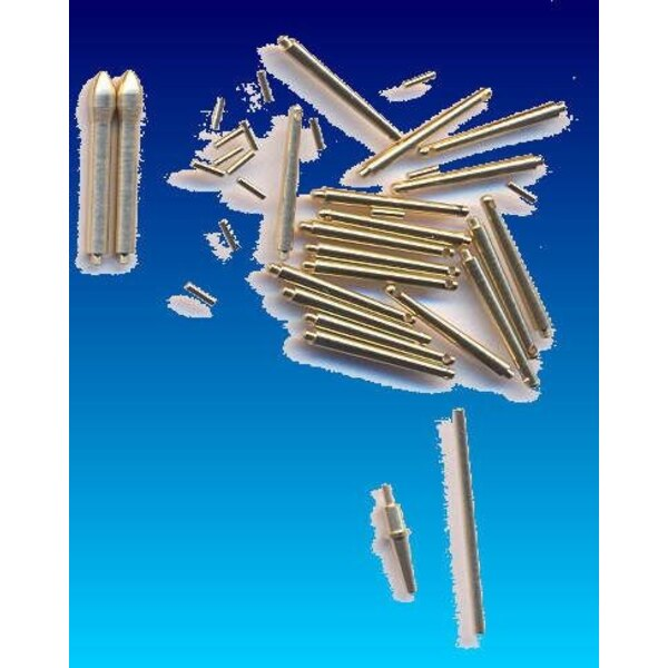 Chinook Pitot tubes and External antenas type ˝A˝ (designed to be used with Trumpeter kits)