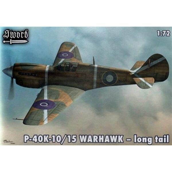 Curtiss P-40K-10/15 Warhawk-long tail (RAF,RAAF,RNZAF)