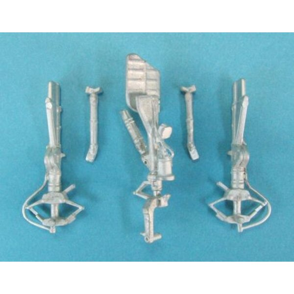 Fairchild A-10 Warthog Landing Gear (designed to be used with Monogram and Revell kits)
