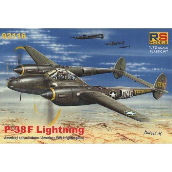 Lockheed P-38F Lightning-New 4/2012 !!! 4 variantes de décals pour USA