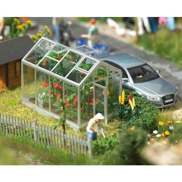 2 greenhouses