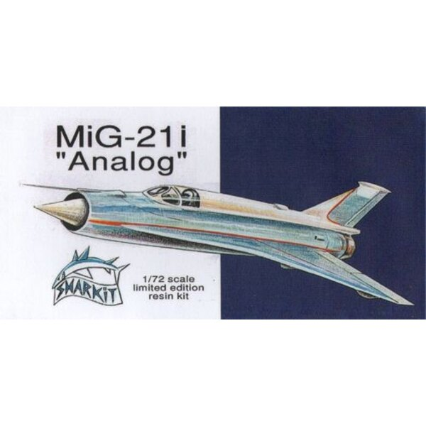 Re-release! Mikoyan MiG-21 I 'Analog' delta wing