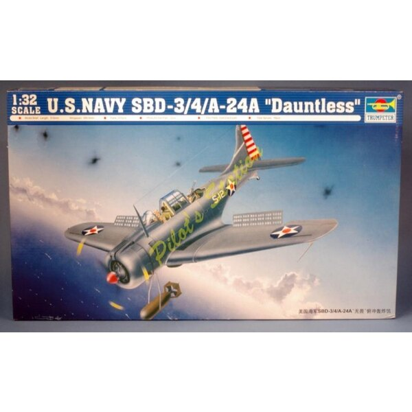 SBD-3 Dauntless (4 & A-24A models)