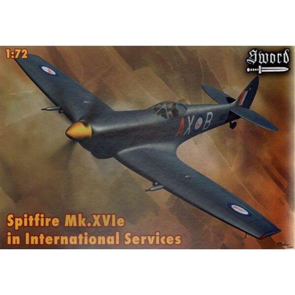 Supermarine Spitfire Mk.XVIe en service international (France, Belgique, Grèce, SAAF)