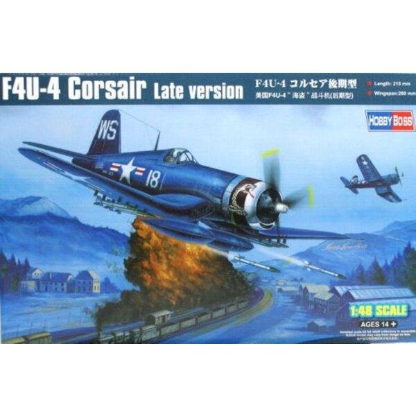 Vought F4U-4 Corsair Late Version
