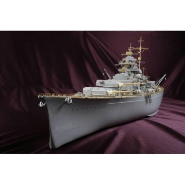 Bismarck 1941 Bismark VALUE PACK (designed to be used with Trumpeter kits) This is basic set include full wooden deck, Photo etc