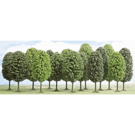 Lot of 12 deciduous trees Busch BUE6586
