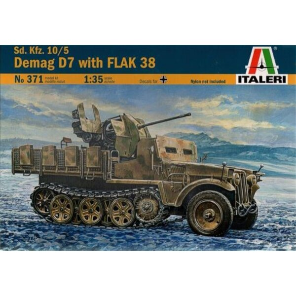 Demag D7 with 20mm Flak 38