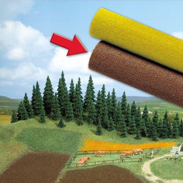 Carpet plowing field