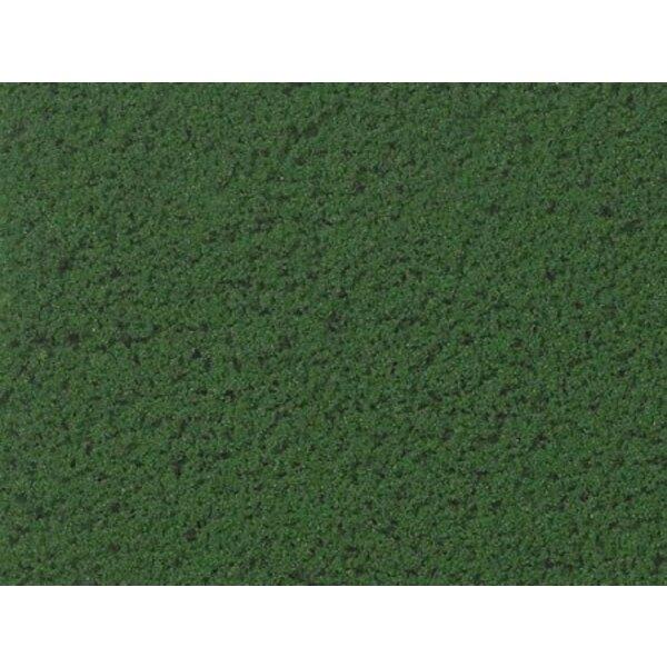 Flocado medio de espuma verde - uv x 5