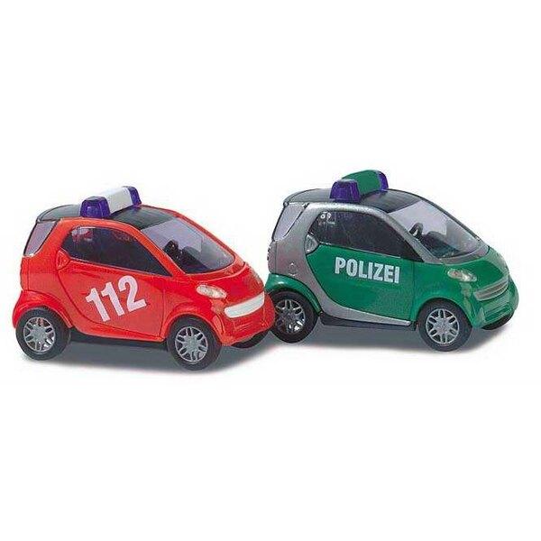 Inteligente Policía / Bomberos de distancia.