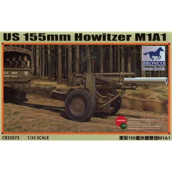 US M1A1 155mm Howitzer (2ème GM)