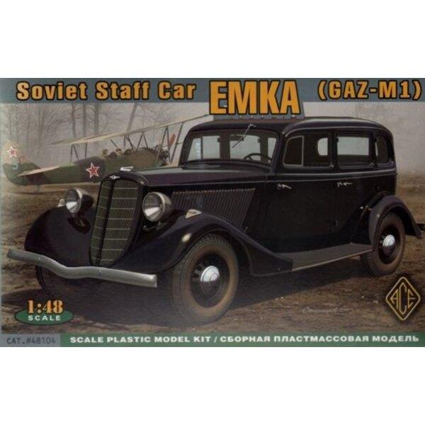 WWII Soviet car Emka (GAZ-M1)