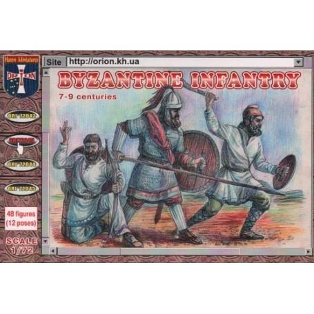 ORION 1//72 byzantin Infantry 7-9 siècles nº 72043