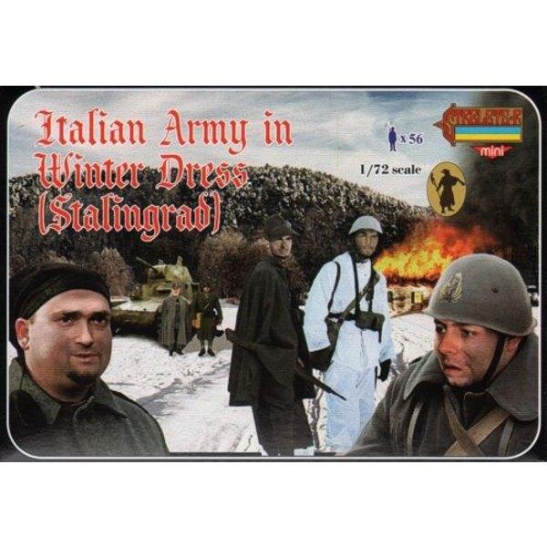 Armée italienne (2ème GM) in Tenue d'hiver (Stalingrad)
