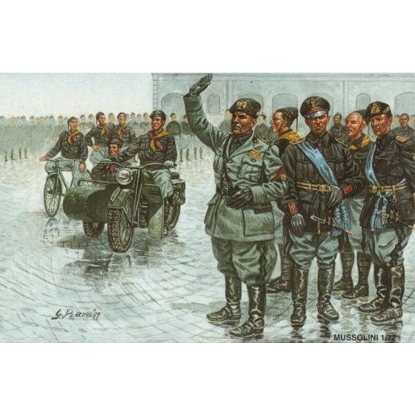 Mussolini The March To Rome.