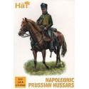 Prussian Hussars Napoleonic x 12 mounted figures