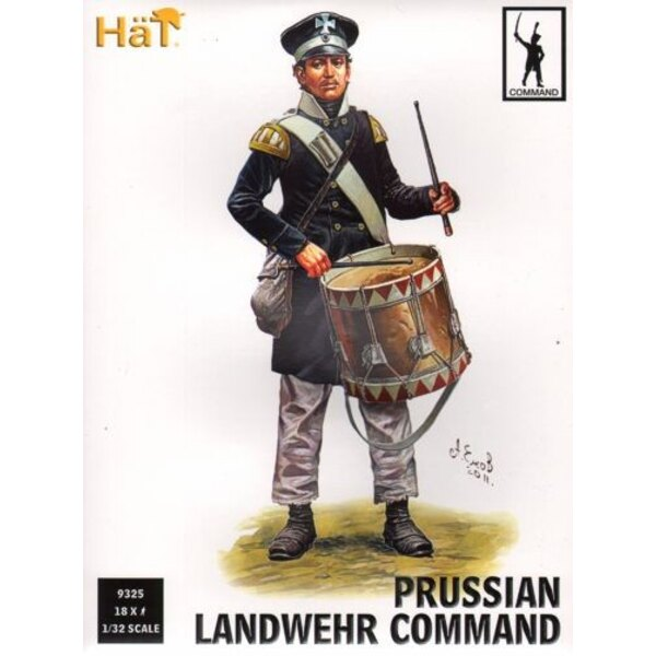 Prussian Land. Command x 18 figures