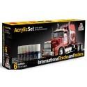 trucks painting set