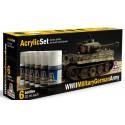 wwii german tanks painting set