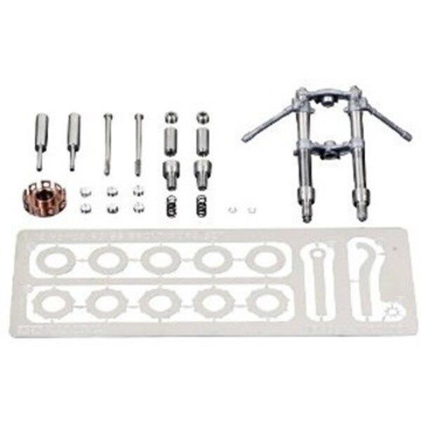 Metal fork Honda RC166