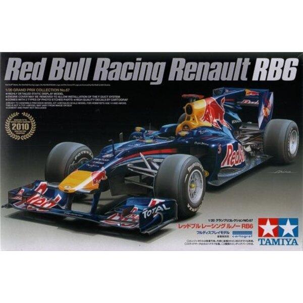 Red Bull RB6 Formula 1 car as driven by Mark Webber & Sebastian Vettel during the 2010 season.