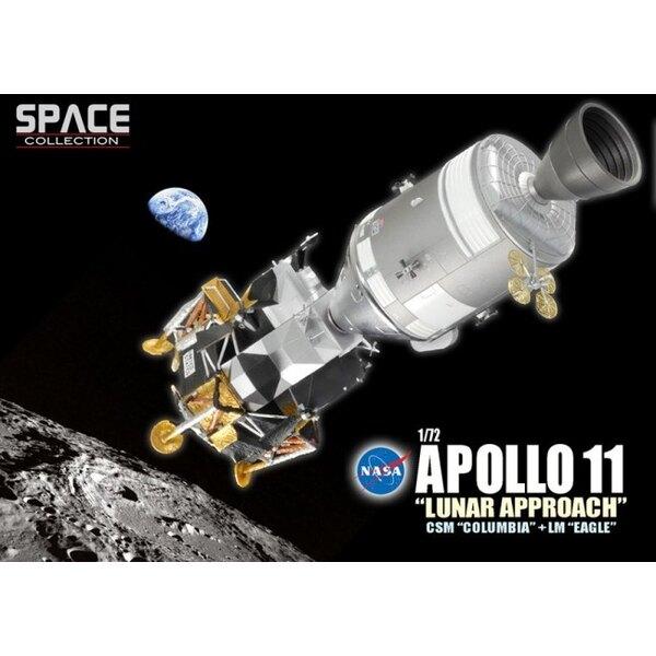 Apollo 11 ˝Lunar Approach˝ CSM ˝Columbia˝ + LM ˝Eagle