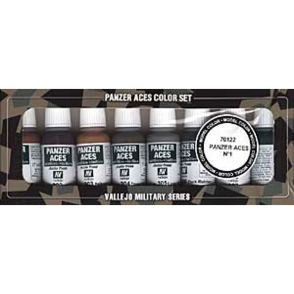 Panzer Aces No.1 Paint Set