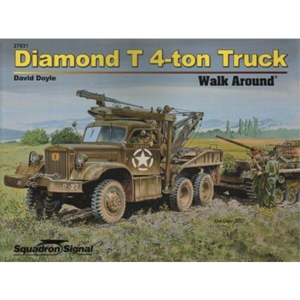 Diamond T 4-ton truck Walk Around Sreis