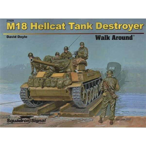Livre M18 HELLCAT TANK DESTROYER (Soft cover) . Though relatively lightly armored, Buick's M18 Hellcat could top 55 MPH, making
