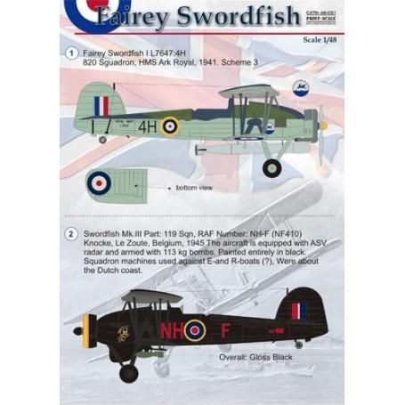 Décal Fairey Swordfish