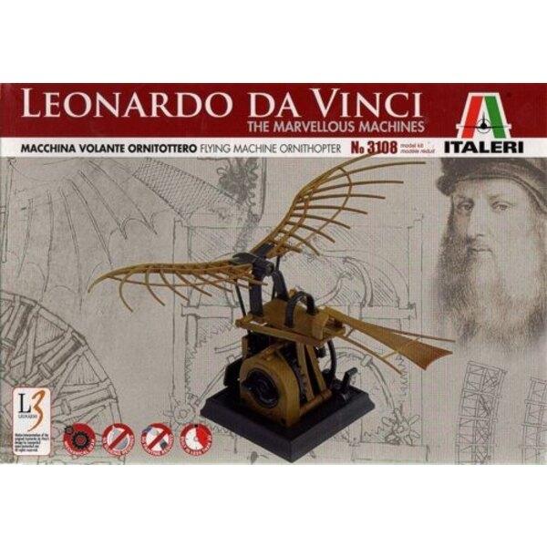 Leonardo Da Vinci Flying Machine Ornithopter The Marvellous Machines
