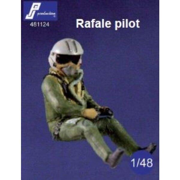 Dassault Rafale piloto sentado en el avión (diseñado para ser utilizado con Heller Hobby Boss y kits de Revell)