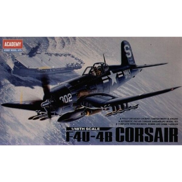 Vought F4U-4B Corsair (WAS AC2124) ** PLEASE SEE ALSO REMAINING STOCK UNDER OLD CODE **