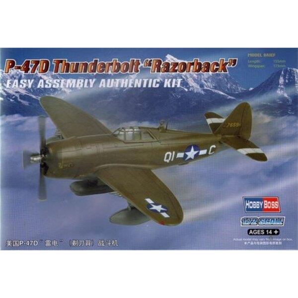 Republic P-47D Thunderbolt (Razorback)