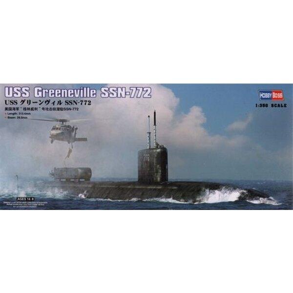 USS Greeneville SSN-772