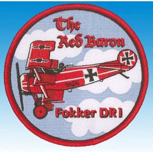 Patch Fokker DR1 El Barón Rojo